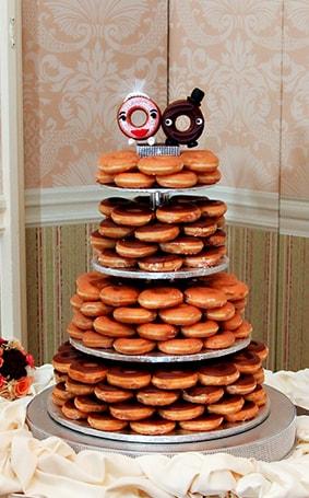 Donut Wedding Cake.Wedding Cake Wednesday Donut Tower Disney Weddings