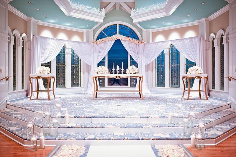One Pavilion, Three Looks - Glamour | Disney Weddings