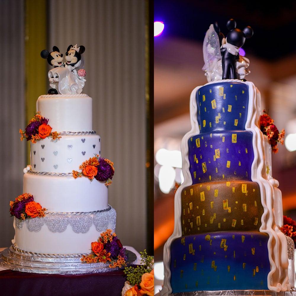 Wedding Cake Wednesday: Half And Half Cakes