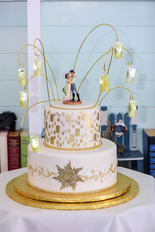 Wedding Cake Wednesday: Tangled in Love Disney Weddings