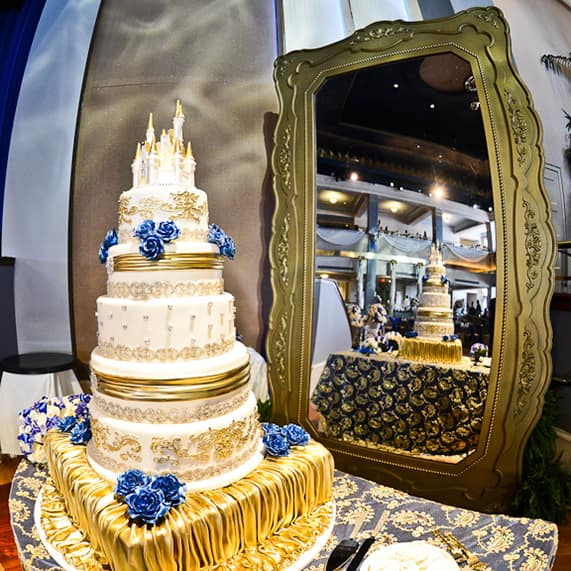 Wedding Cake Wednesday Beasts Castle Disney Weddings