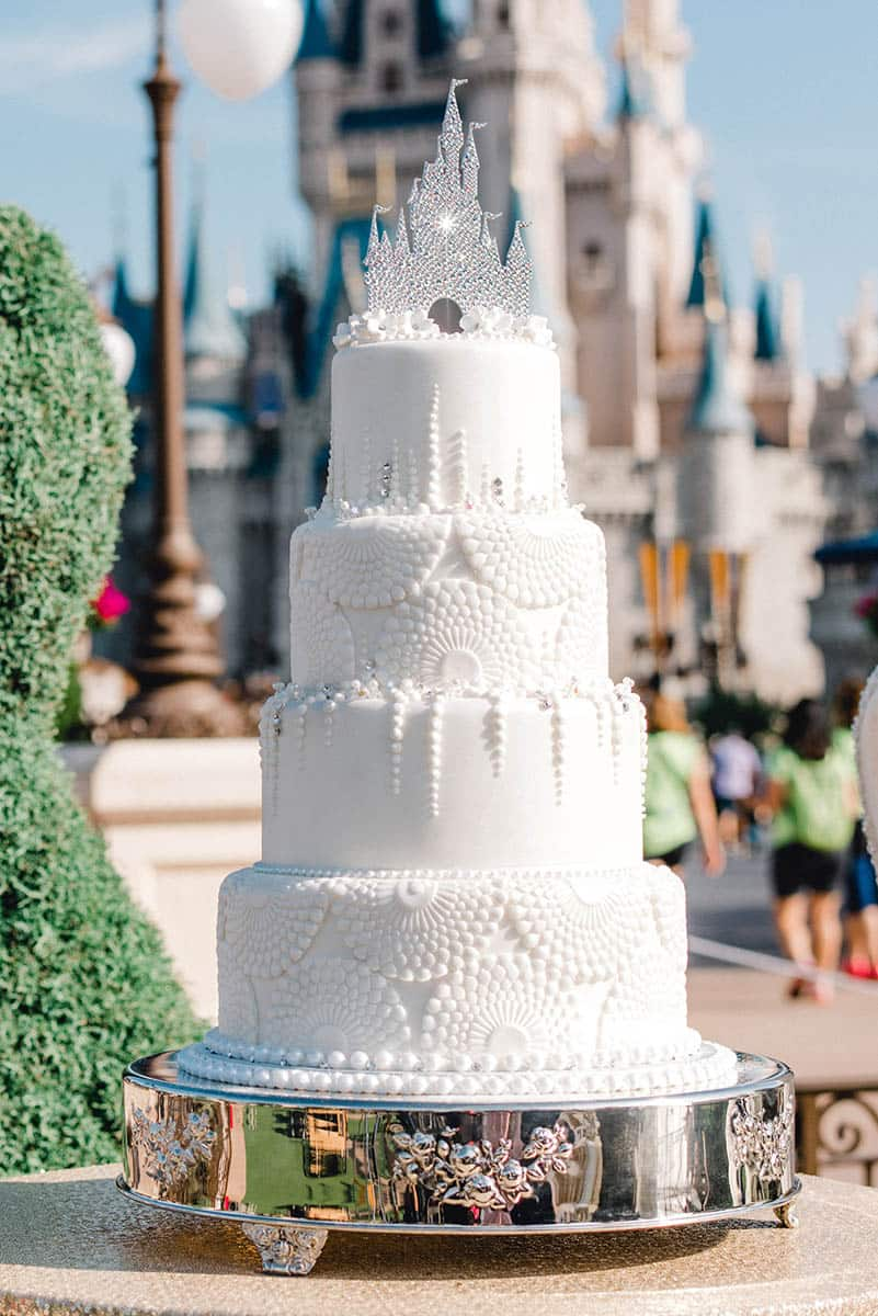 Wedding Cake Wednesday A Royal Affair Disney Weddings