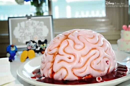 Wedding Cake Wednesday Groom S Brain Cake Disney Weddings Disney