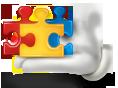 Team Building - Puzzle Icon
