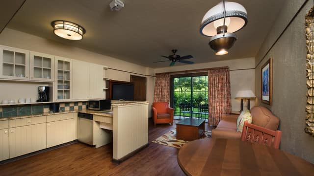 rooms & points | the villas at disney's wilderness lodge | disney