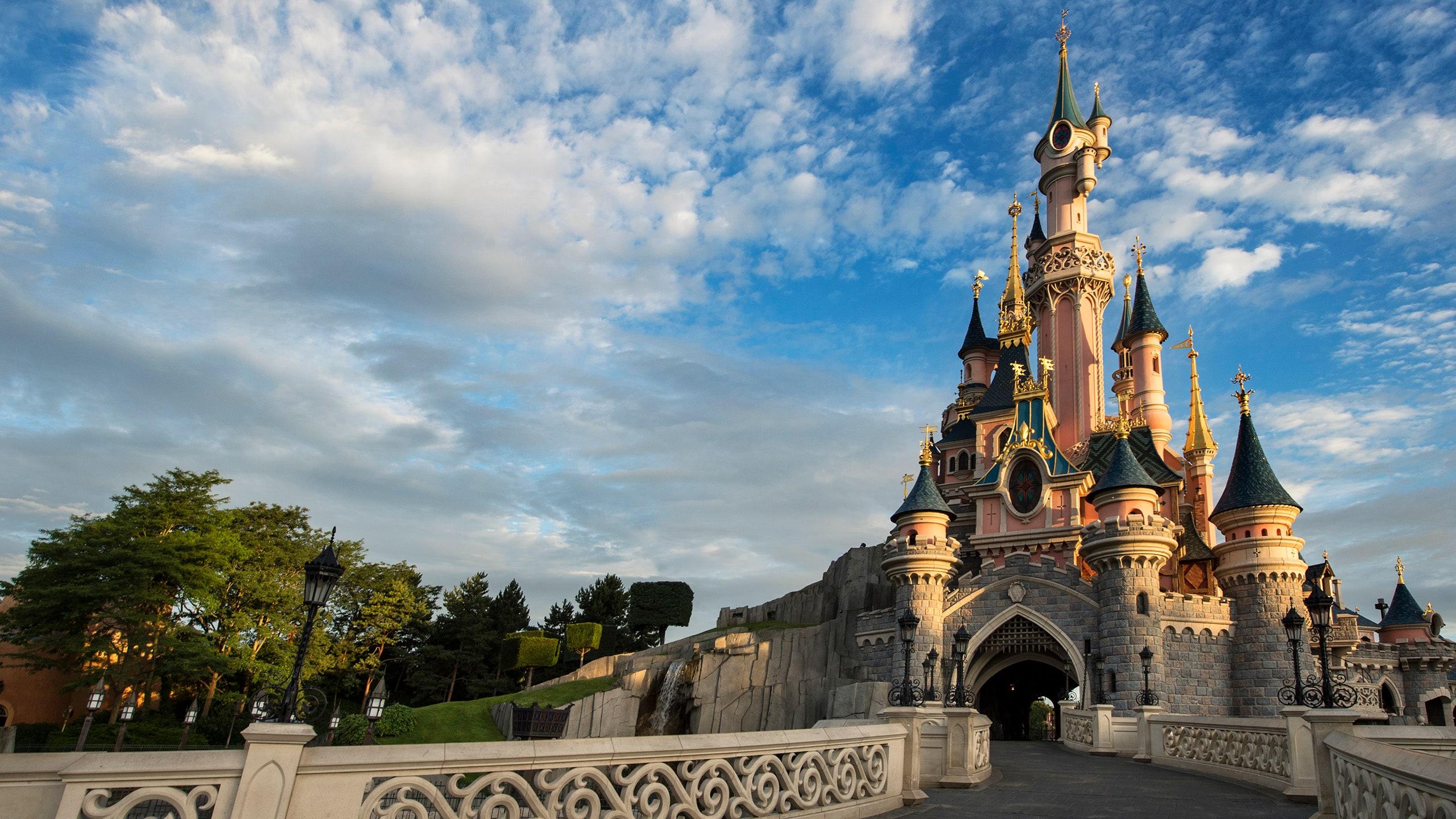 ディズニーランド・パリの眠れる森の美女の城