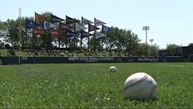 Kids Circle the Bases at Atlanta Braves Spring Training Games