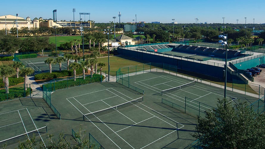 Tennis Complex The Espn Wide World Of Sports Complex