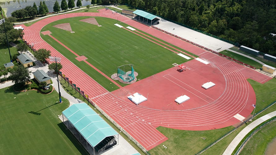 Track And Field Complex The Espn Wide World Of Sports Complex