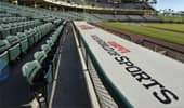 ESPN Wide World of Sports logo in from of stadium seats at baseball field