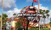 ESPN Wide World of Sports globe at entrance to the sports complex