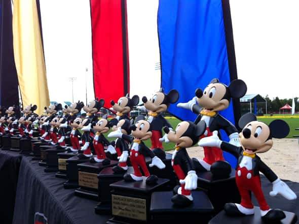 Disney Mousecar Trophy