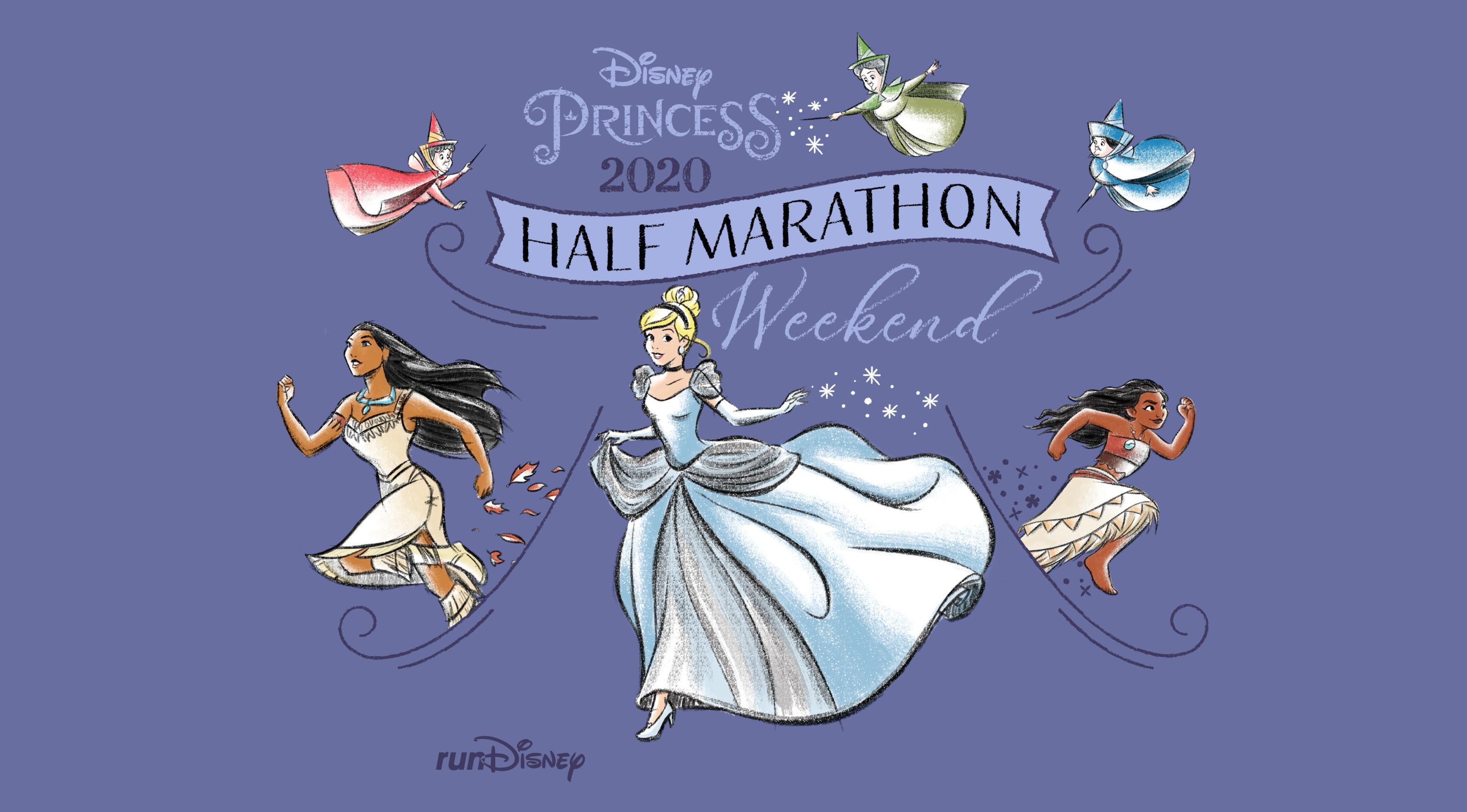 An Enchanting Set Of Race Themes For The 2020 Disney Princess Half