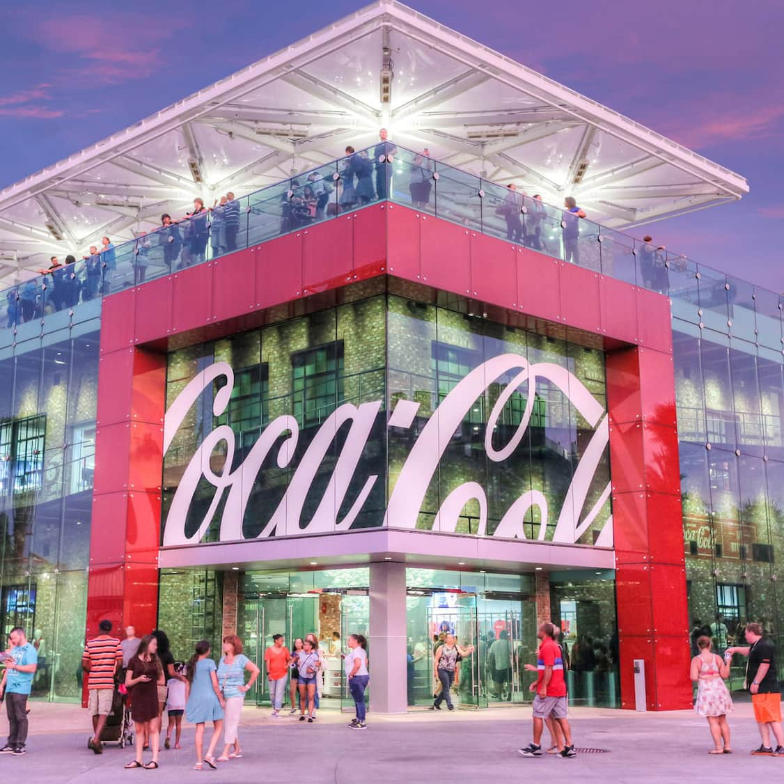 Image result for disney coca cola store