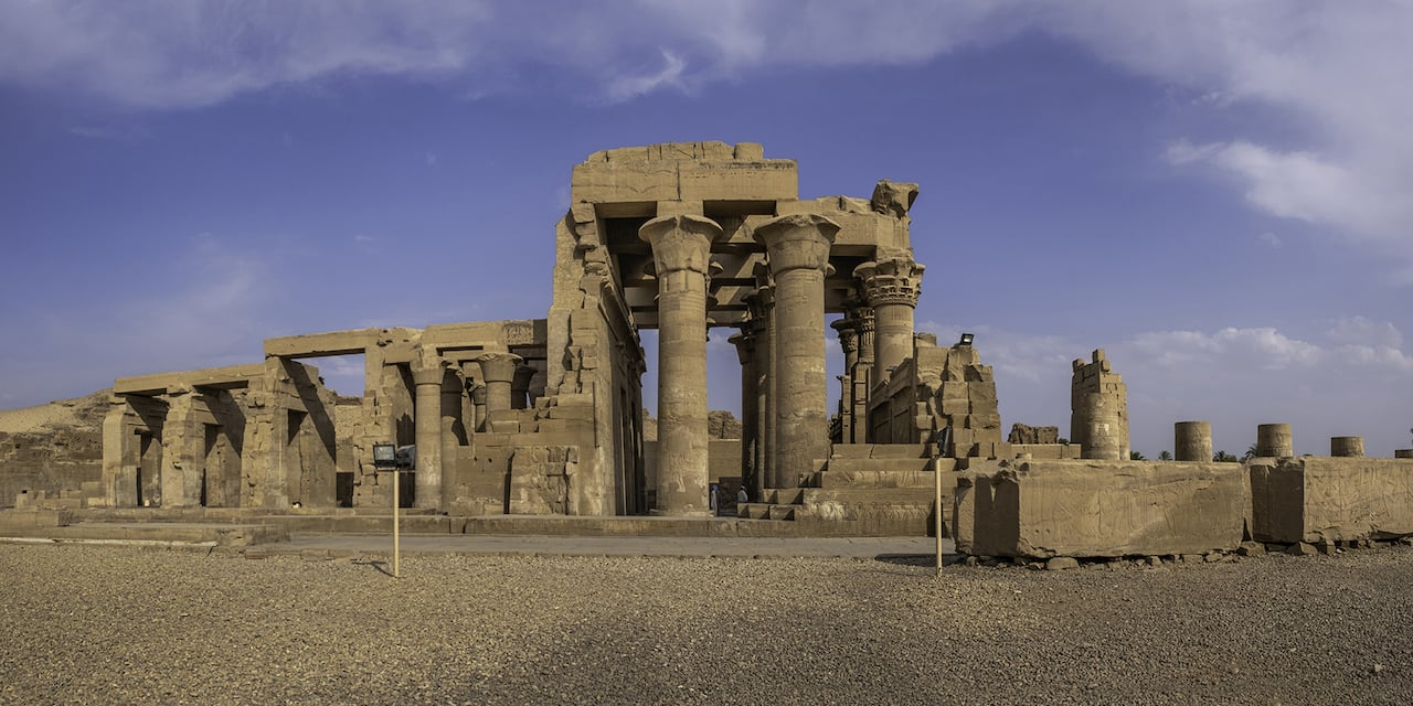Remnants of the Temple of Kom Ombo