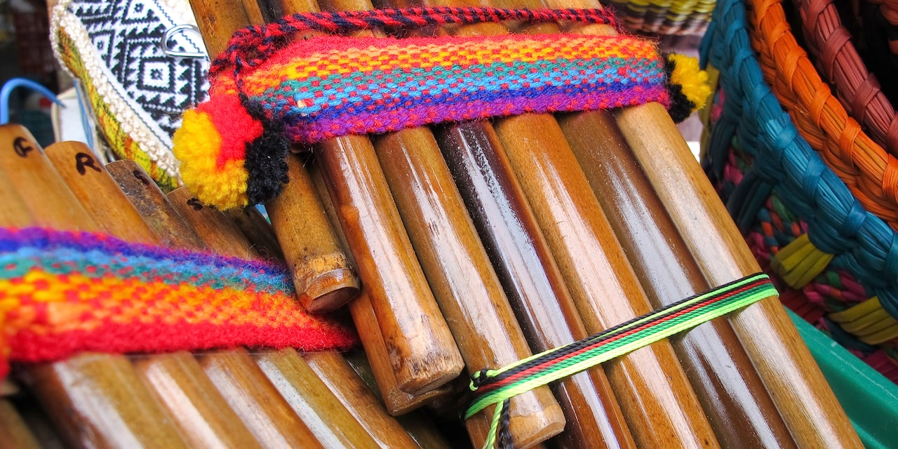 An Andean flute
