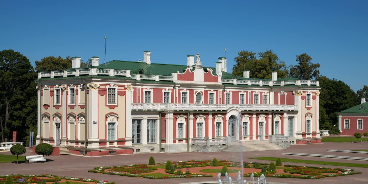 Kadriorg Palace in Estonia