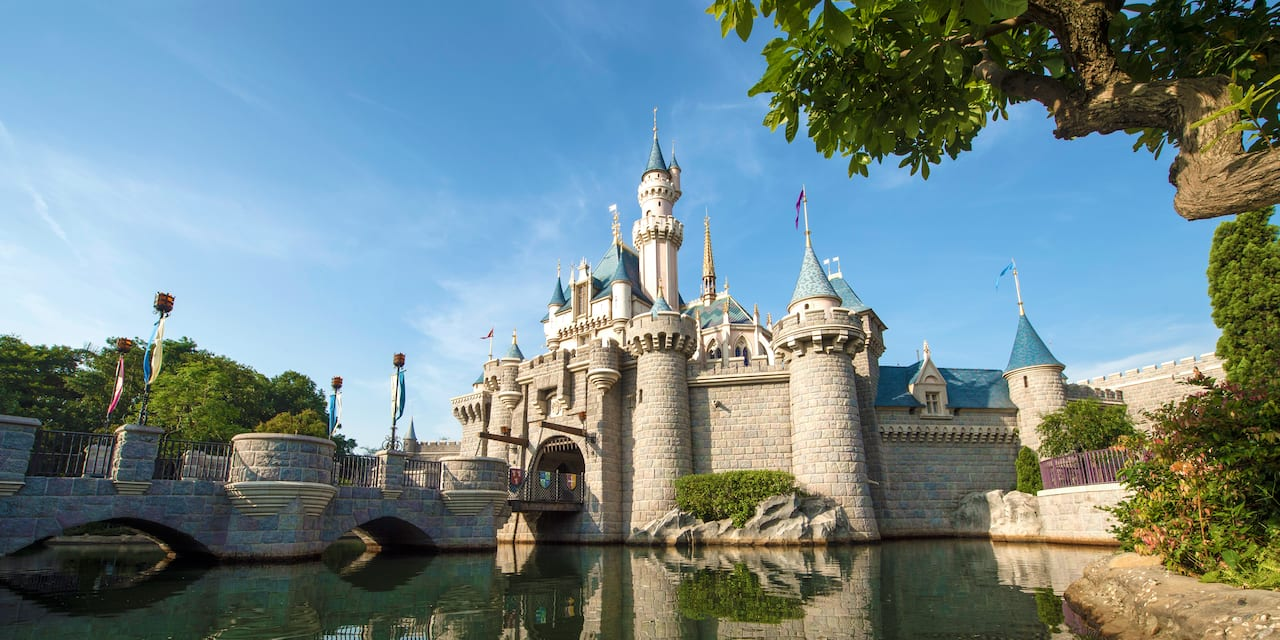 Sleeping Beauty Castle at Hong Kong Disneyland Park