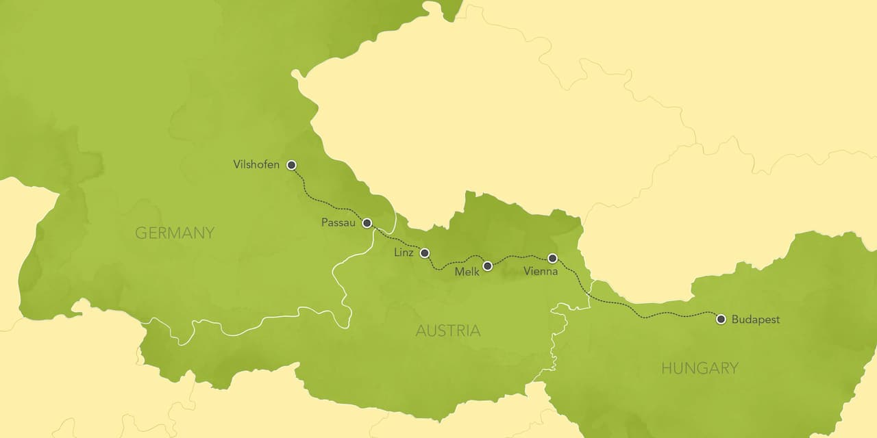 Seine River On Map Of Europe.Danube River Cruise Christmas Markets Adventures By Disney