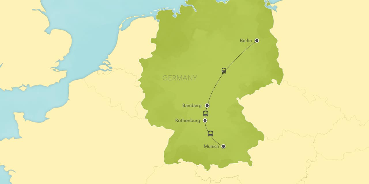 Map Of Southern Germany With Cities.Germany Tours Vacations Adventures By Disney