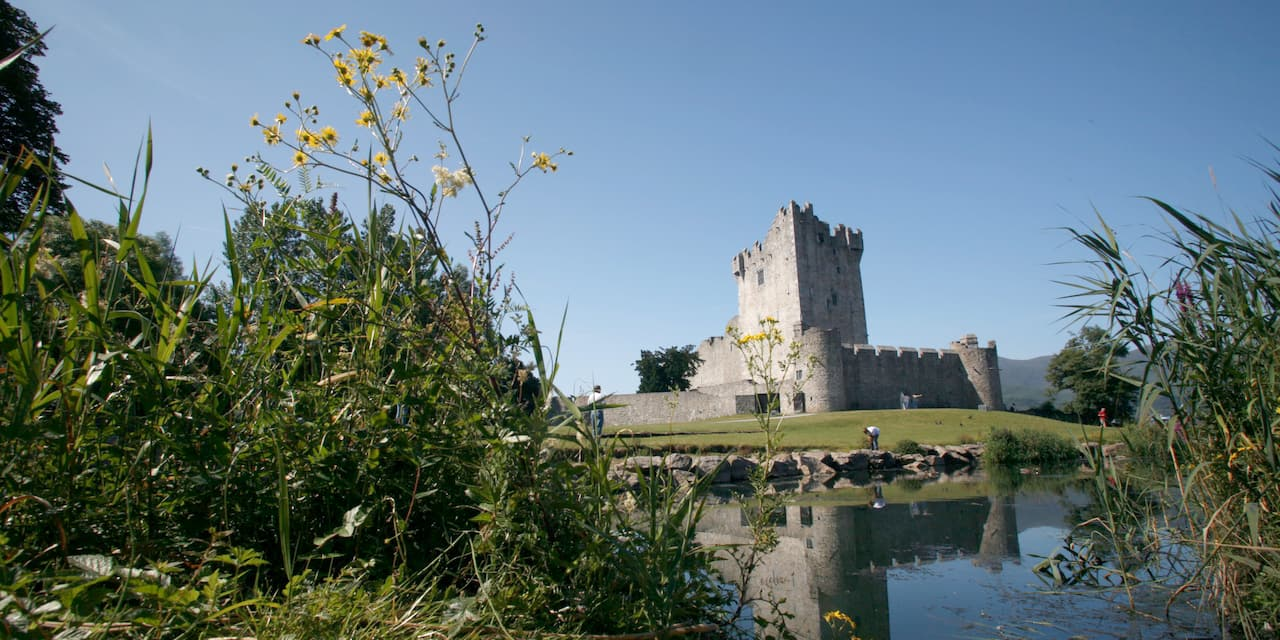 The exterior of Ross Castle