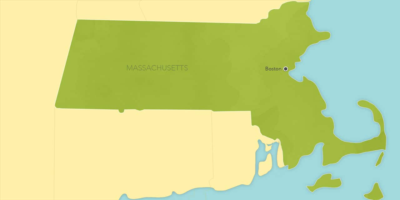 Interactive map of Boston, showing a summary of each day's activities.