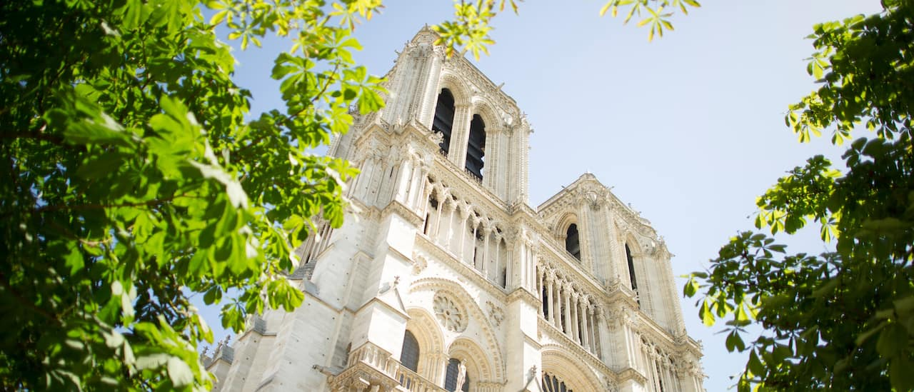 The majestic Nôtre Dame Cathedral