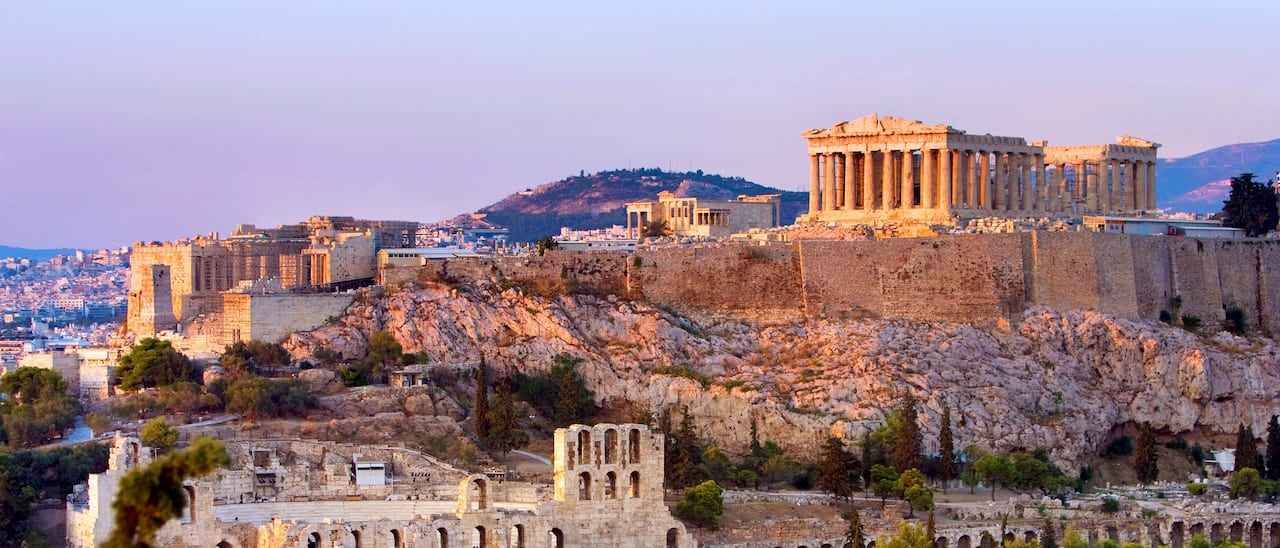 Visit the Acropolis on the Greek tour
