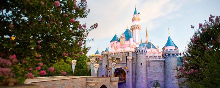 El majestuoso Castillo de la Bella Durmiente es el punto focal del parque Disneyland