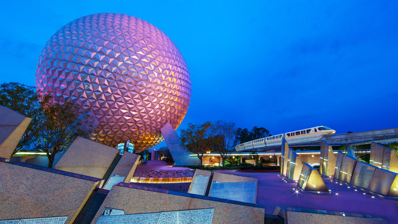 Explore wonders of innovation and technology in Future World, and international culture in the 11 pavilions of World Showcase.