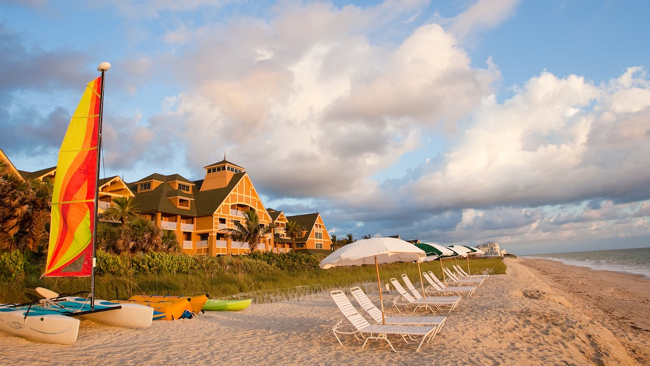 Relax on a tranquil beach and enjoy a wide variety of fun family activities.