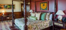 The smaller bedroom of the 2-bedroom suite at Aulani