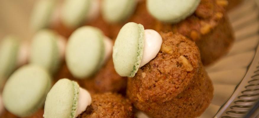 ズッキーニとニンジンのカップケーキ