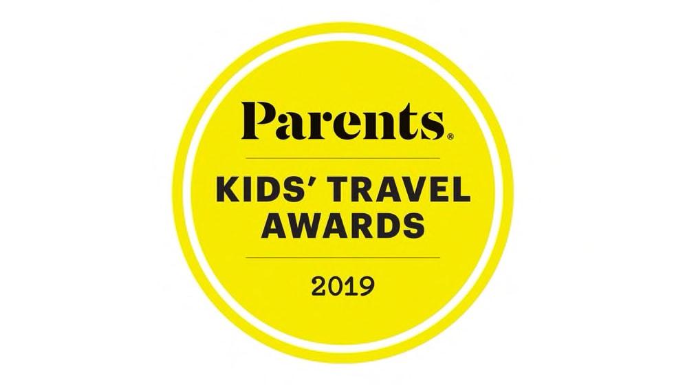 Parents Kids' Travel Awards 2019 logo