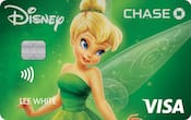 Chase Visa card with Tink design
