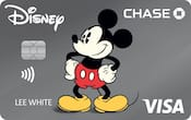 Chase Visa card with Vintage Mickey design