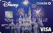 Chase Visa card with 60th Diamond Celebration design
