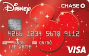 Chase Visa card with Pixie Dust design