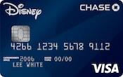 Chase Visa card with dark, monochromatic design