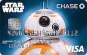 Chase Visa card with BB-8 design