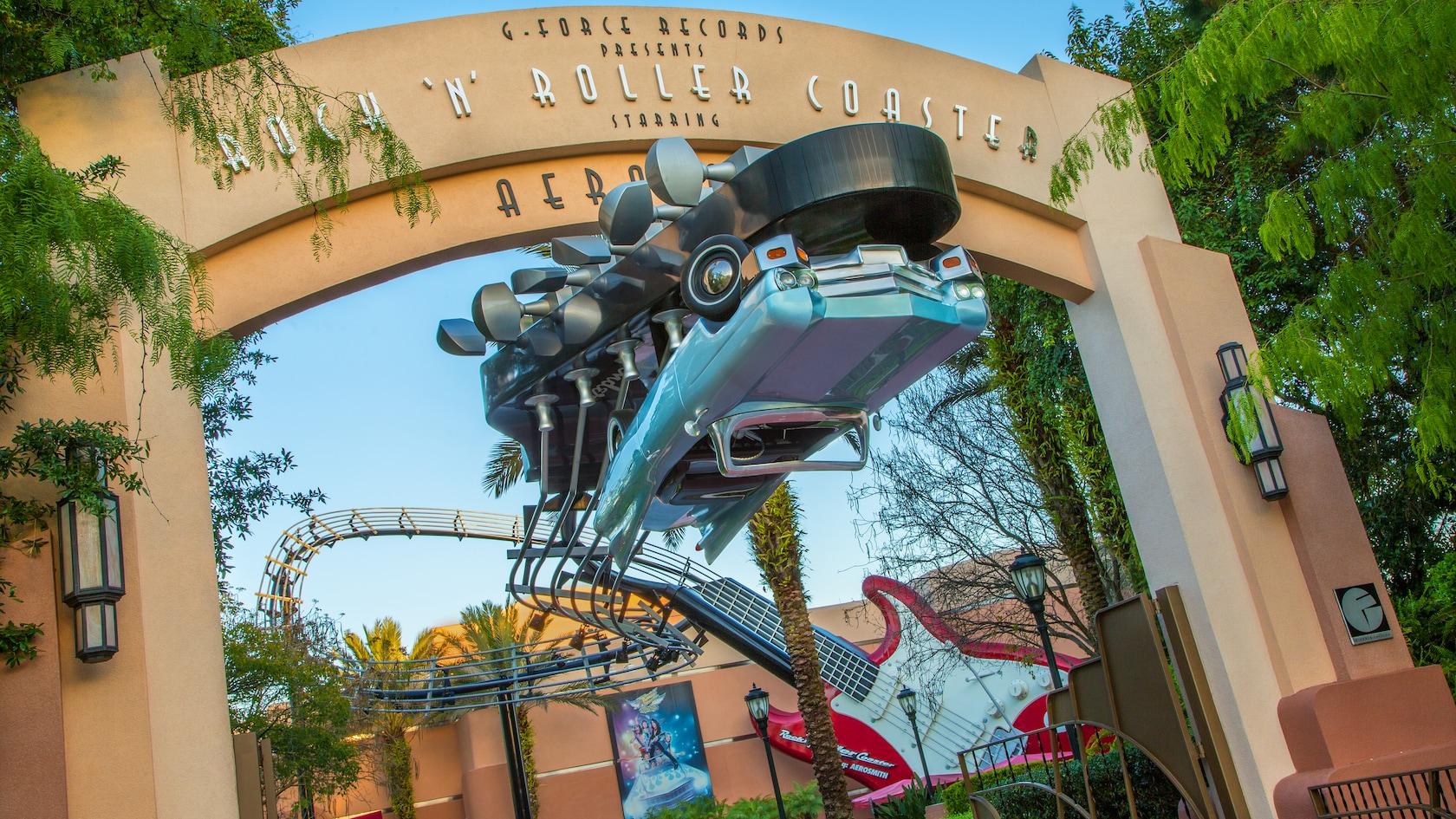 Rock 'n' Roller Coaster® Starring Aerosmith | Hollywood Studios Attractions  | Walt Disney World Resort