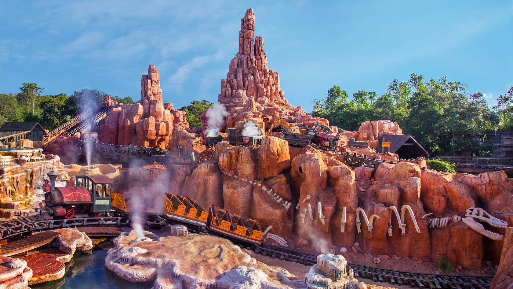 Big Thunder Mountain Railroad | Walt Disney World Resort