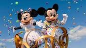 ミッキー、ミニー、90周年、ゲットユアイヤーズ、スペシャルイベント、特別イベント、パレード、サウンドセーショナルパレード