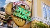 A sign that reads Ralph Brennan's Jazz Kitchen