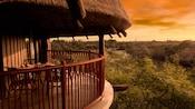 A balcony at Disney's Animal Kingdom Villas Kidani Village