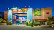 The outside of Disney Junior Live on Stage