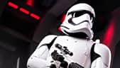 A Star Wars stormtrooper