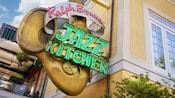 A sign that reads Ralph Brennan's Jazz Kitchen