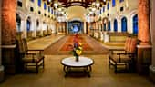 The lobby of Disney's Coronado Springs Resort