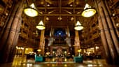 The lobby of Disney's Wilderness Lodge